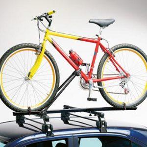 Porte-vélo barre de toit