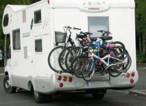 porte-vélo de camping car