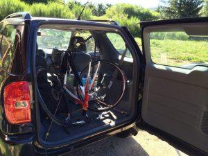 Transporter son vélo en fourgonnette - 23