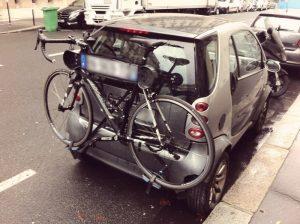 Utilisation correcte d'un porte-vélo - 3