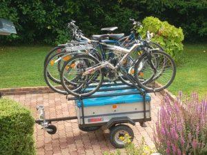 Porte-vélo sur roue - 2