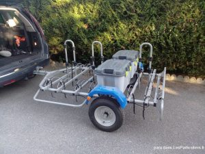 Porte-vélo sur roue - 1