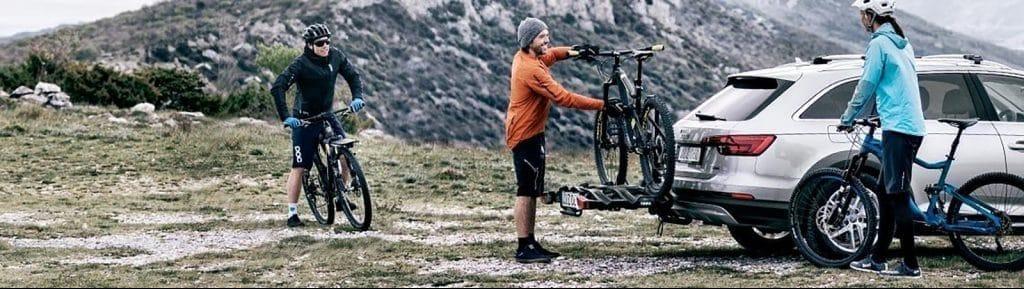 Porte-vélo électrique